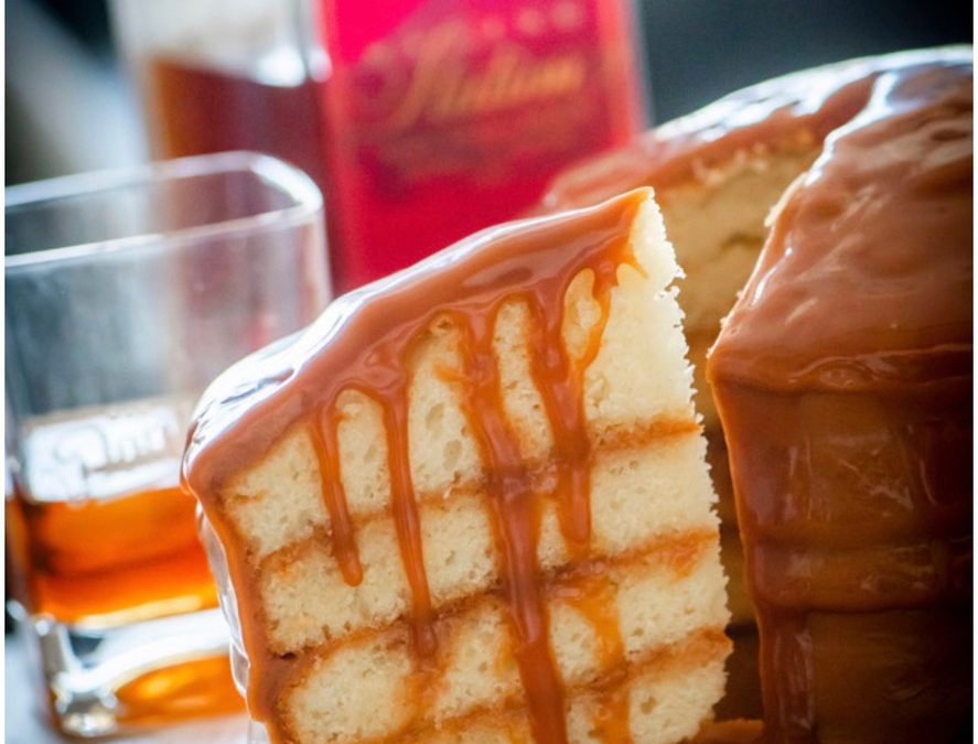 Memphis Bourbon Caramel Cake: Sugar Avenue Bakery and Old Dominick team up on sweet project